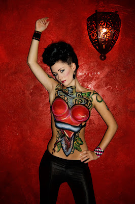 body painting 2011 contest