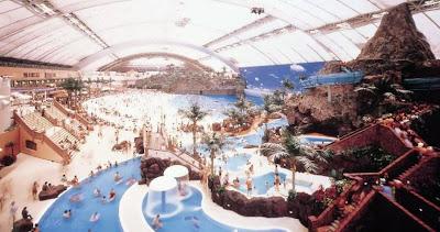 Dome Japanese Artificial Indoor Beach Amusement Park