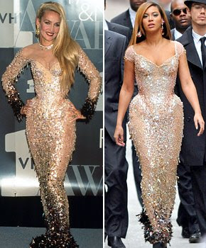 Beyonce's Rep: Dress Made Her Look Curvy