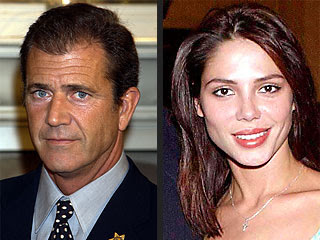 Mel Gibson and his new girlfriend Oksana Grigorieva comes out together in public