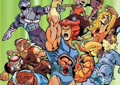 Thunder Cats on Slamnation   Russell Conference  Thundercats