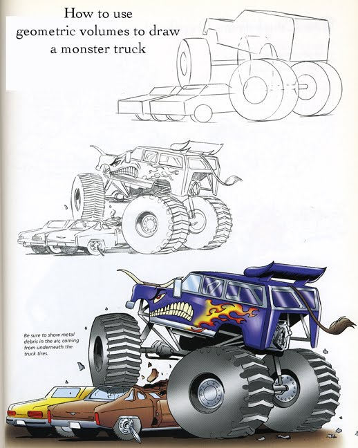 [Geometric+Volumes+to+Block+In+Form+-+monster+truck]