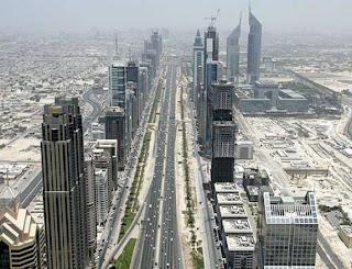 Shaikh Zayed Road in 2006