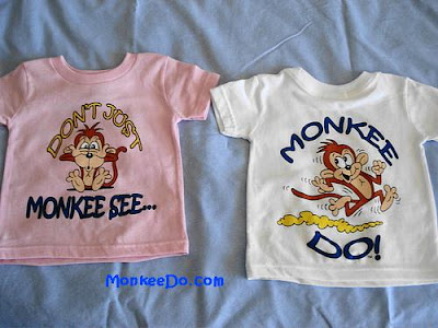 infant monkey shirts
