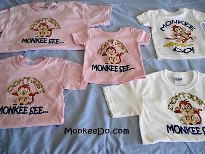 cute monkey shirts