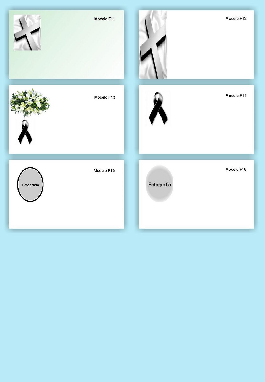 Tarjetas de condolencias gratis para imprimir - Imagui