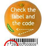 Israeli goods bar code: 729