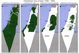 The shrinking of Palestine