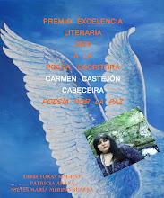 """PREMIO EXCELENCIA LITERARIA 2009 """"ANGELES DE LA PAZ""""DE HOMBRES Y MUJERES POR LA PAZ"""