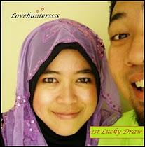Love Huntersss 1st Lucky Draw