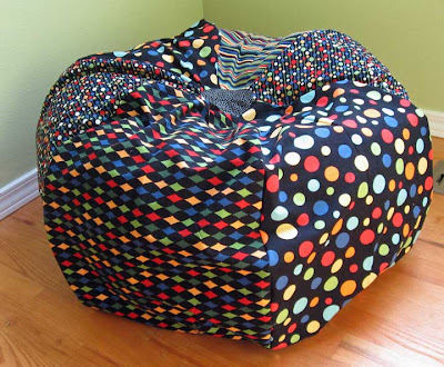 Bean Bag Chair Pattern Template http://makingitfun.blogspot.com/2008/09/bean-bag-chair.html