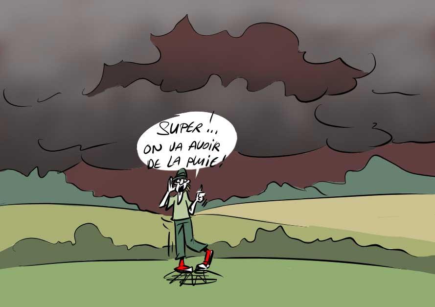 image drole orage