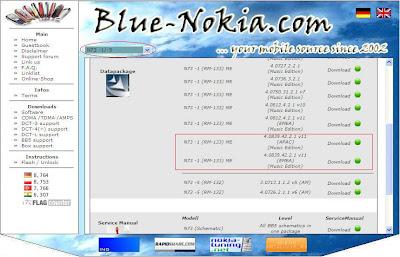 blue-nokia site