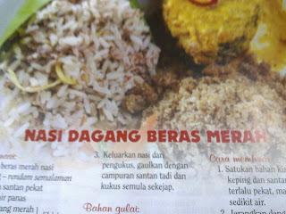 nasi tumpang sebab ada yang menumpang dalam nasi tu hehehe