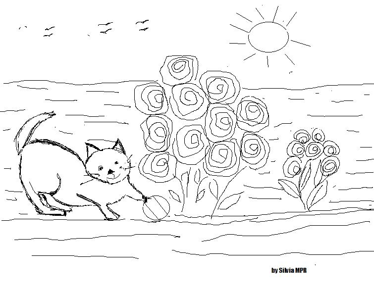 Dibujos e Imagenes - Easy coloring pages: Dibujitos de animales ...