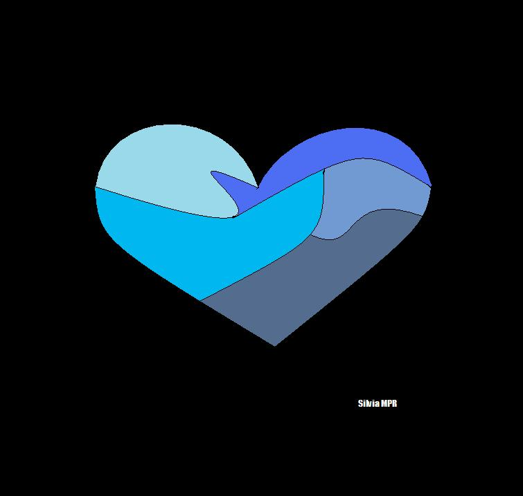 Dibujos de corazones para colorear y pintar