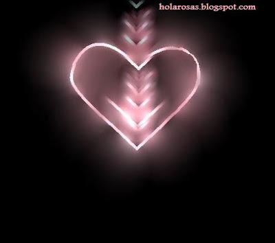 Corazones De Amor Con Movimiento Y Brillo