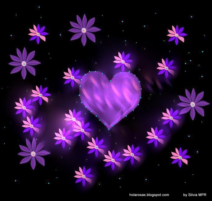 Imagenes de corazones brillosos - Imagui