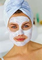 Ender Saraç Güzellik ve tazelik için maske