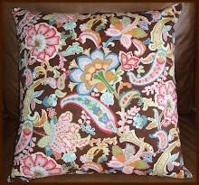 Throw Pillow covers with hidden zipper closure