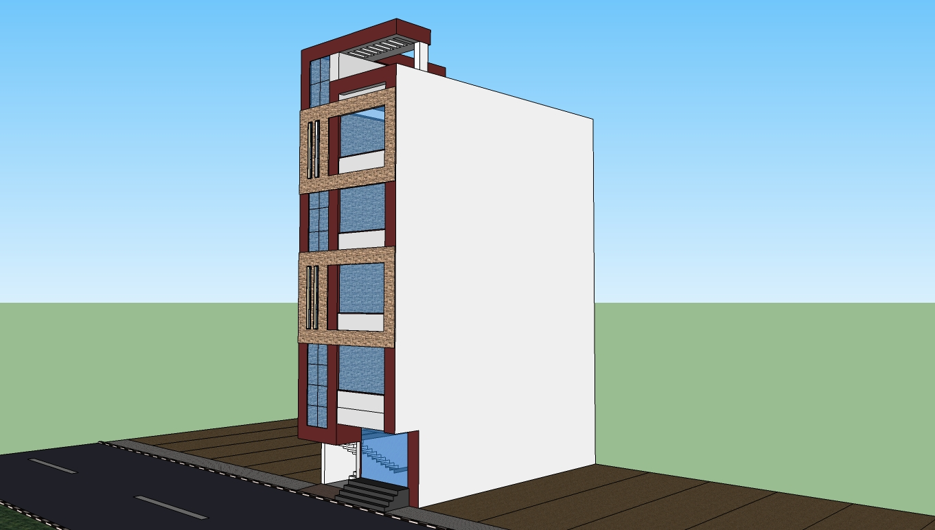Apartment Plans And Elevations