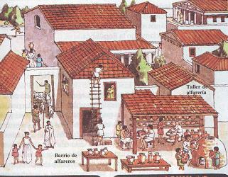 Lisias y eufileto vida diaria en atenas la casa griega for Casas griegas antiguas