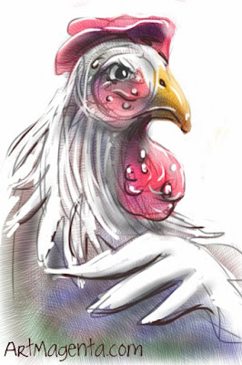 The Hen is a sketch by Artmagenta