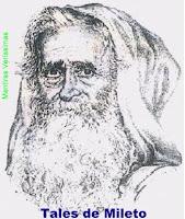 O filósofo Tales de Mileto, o Pai da Geometria
