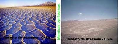 Deserto do Atacama no Chile.