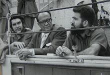 El Ché en una barrera de la Plaza de toros de las Ventas