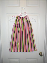 4t Striped pillowcase dress
