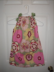 Flowered 5T pillowcase dress