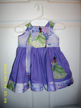 Princess and the Frog Knot Dress