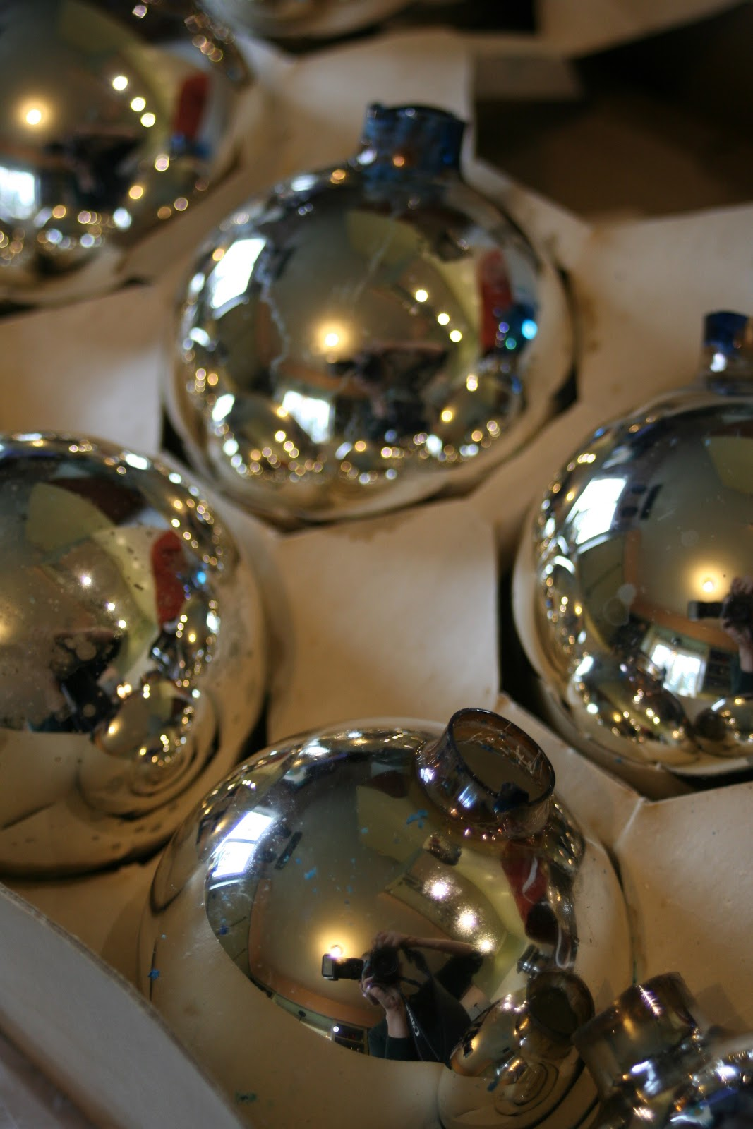 Lilliedale mercury glass ornaments