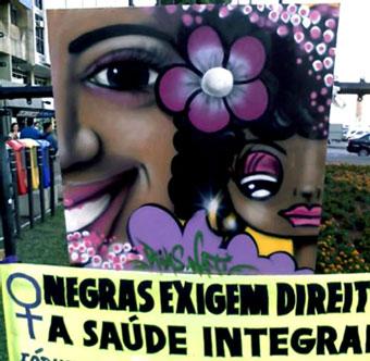 *Ato no 20 de Novembro. Praça Zumbi dos Palmares e nossas Dandaras...