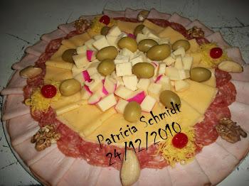 Tábua de frios e queijos 24/12/2010