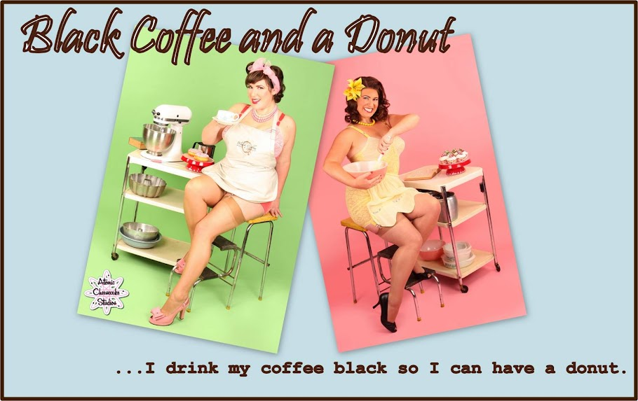 Black Coffee and a Donut
