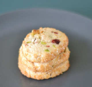 ... : Getting Over the Cookie Slump: Pistachio Cranberry Icebox Cookies