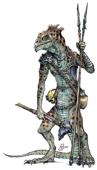 After reorganizing the pcs began to search the caverns near the spike    Lizardfolk In Armor