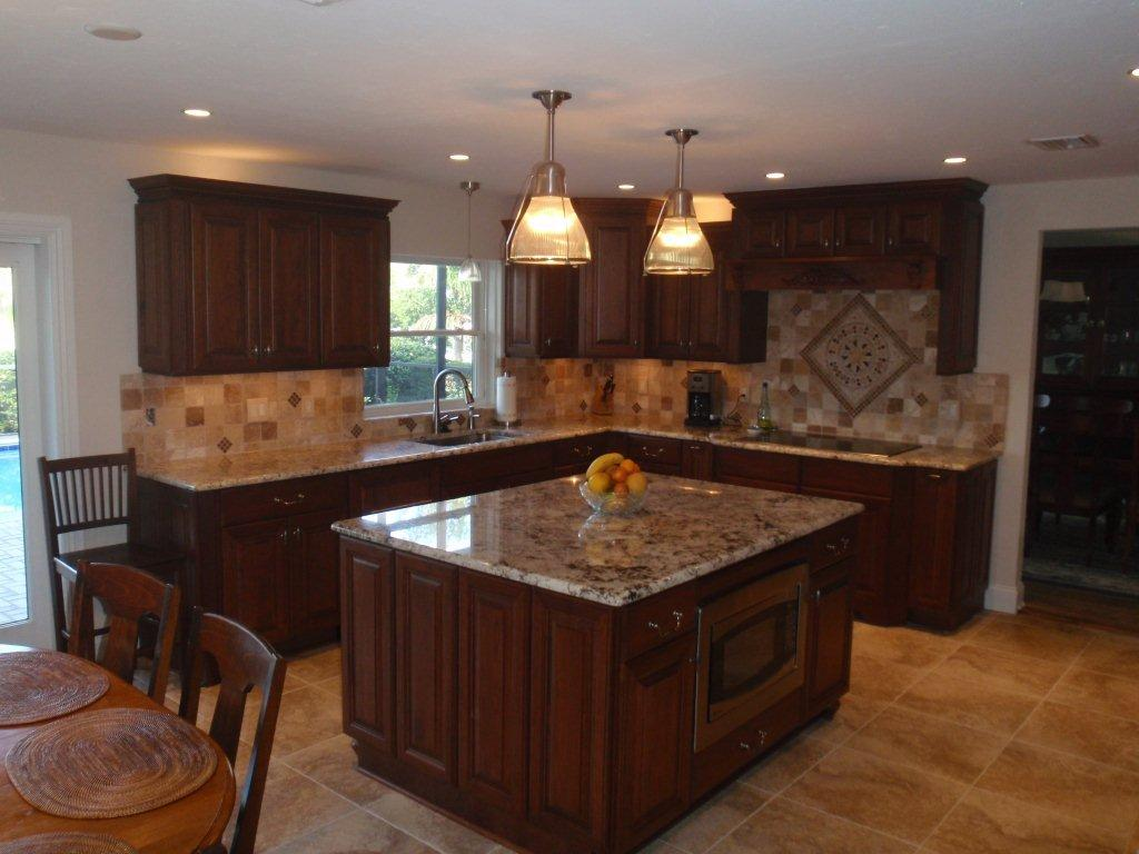 Insurance fire water restorations kitchen remodel in fort myers florida - Photos of kitchen ...