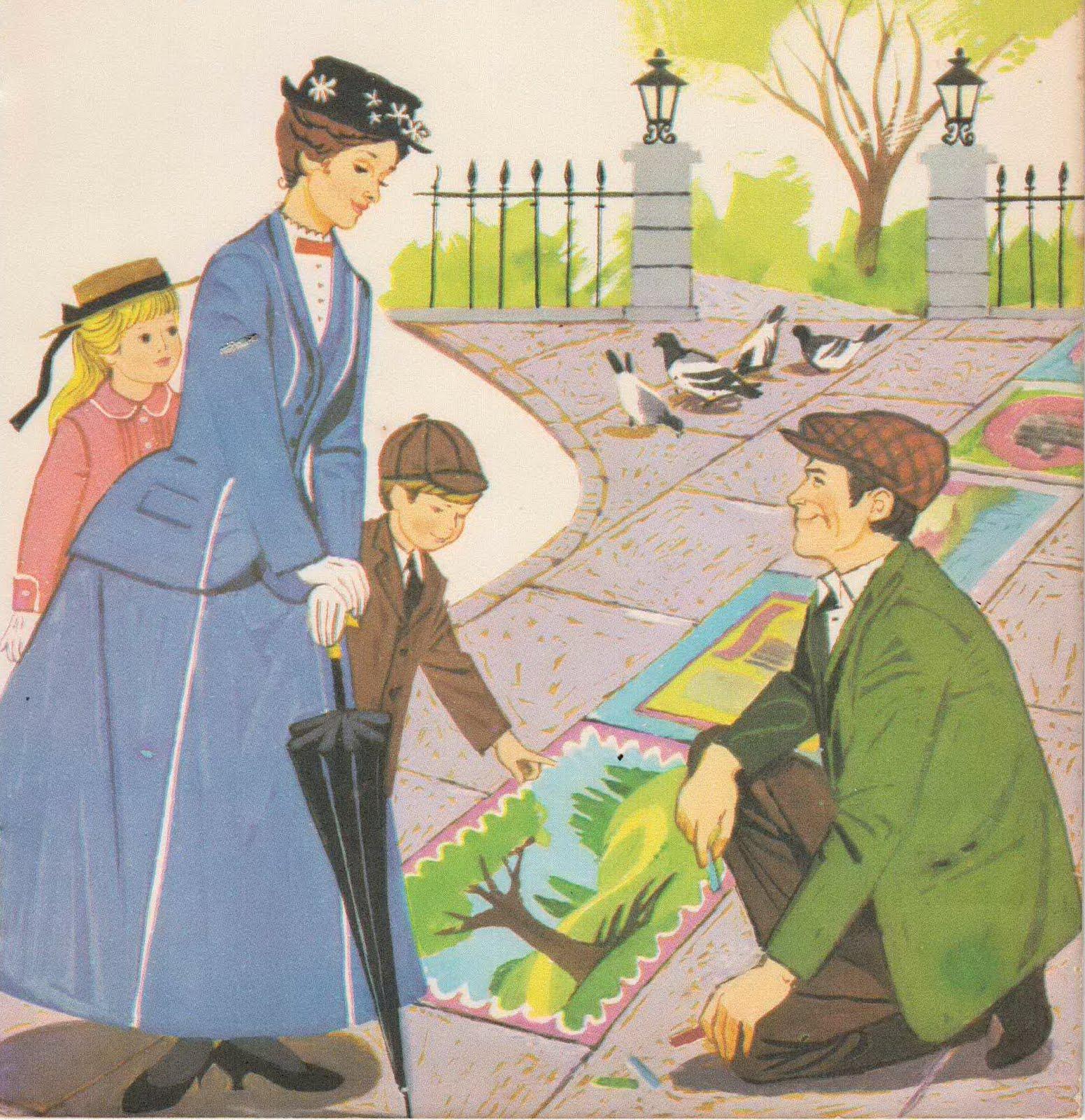 Mary poppins libro de cuentos - Dibujos infantiles originales ...