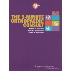 The 5-Minute Orthopaedic Consult 1