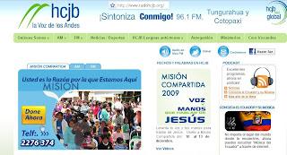 Ecuador: HCJB en onda corta