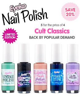 cultclassics Winners!  Eyeko Graffiti Liners and Nail Polish Giveaway