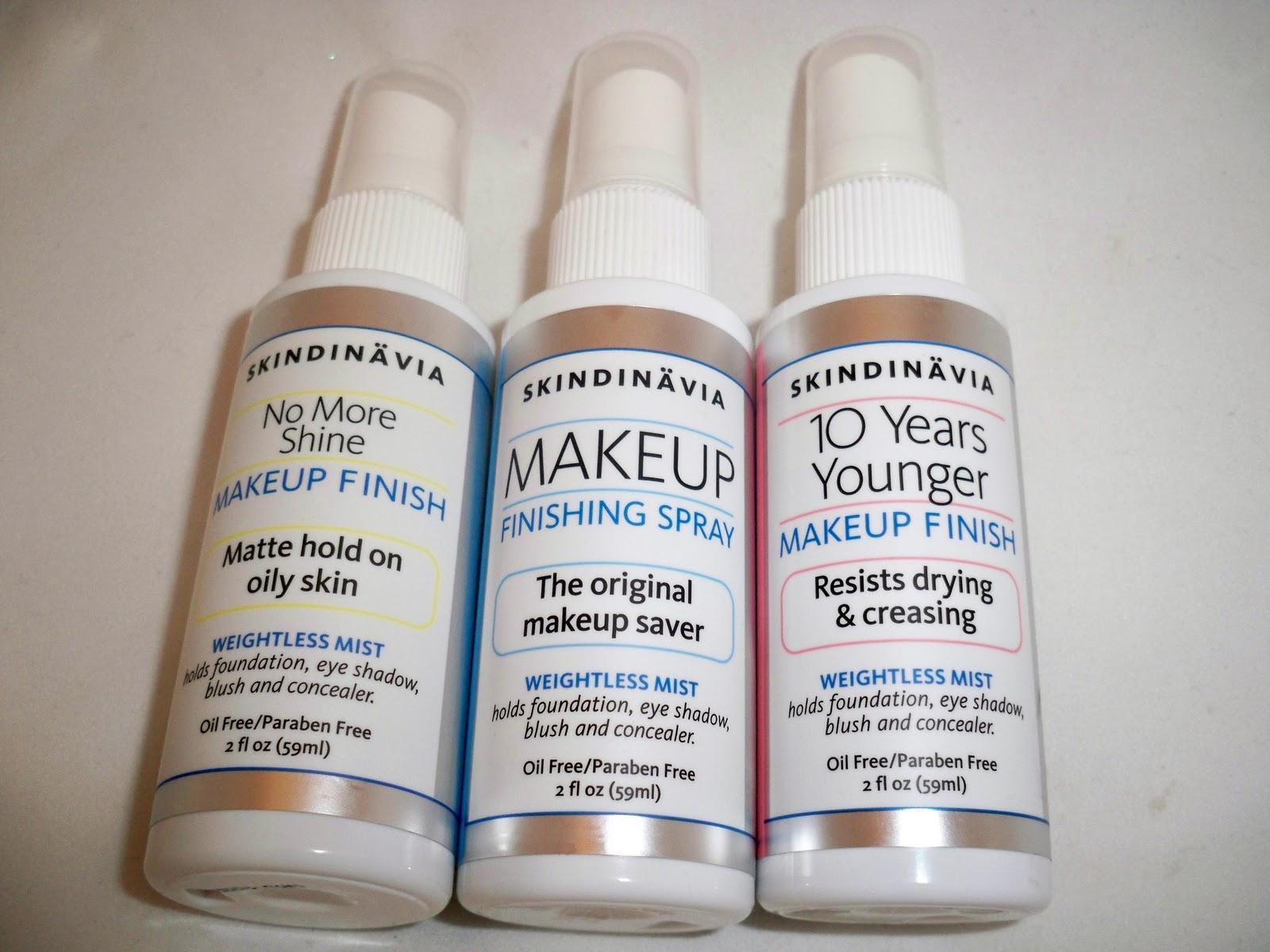 Skindinavia Makeup Finish Sprays - Review & Giveaway! | Makeup By ...