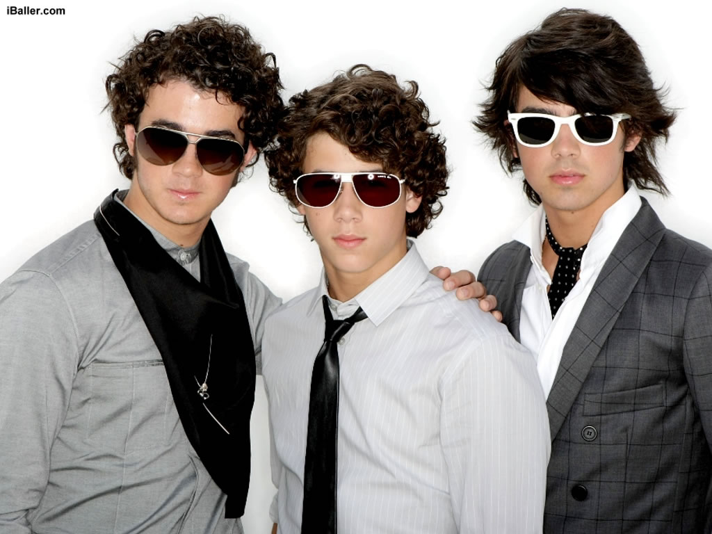 Cool Black Wallpaper for Jonas Brothers