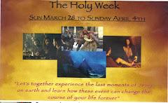Holy Week 2010