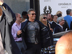 Su's Expendables Premiere Pics