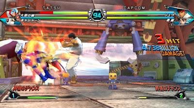 Tatsunoko vs Capcom All Ultimate Stars04 Nuevas imagenes y logo Americano de Tatsunoko vs Capcom Uiltmate Stars