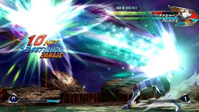 Tatsunoko vs Capcom All Ultimate Stars09 Nuevas imagenes y logo Americano de Tatsunoko vs Capcom Uiltmate Stars